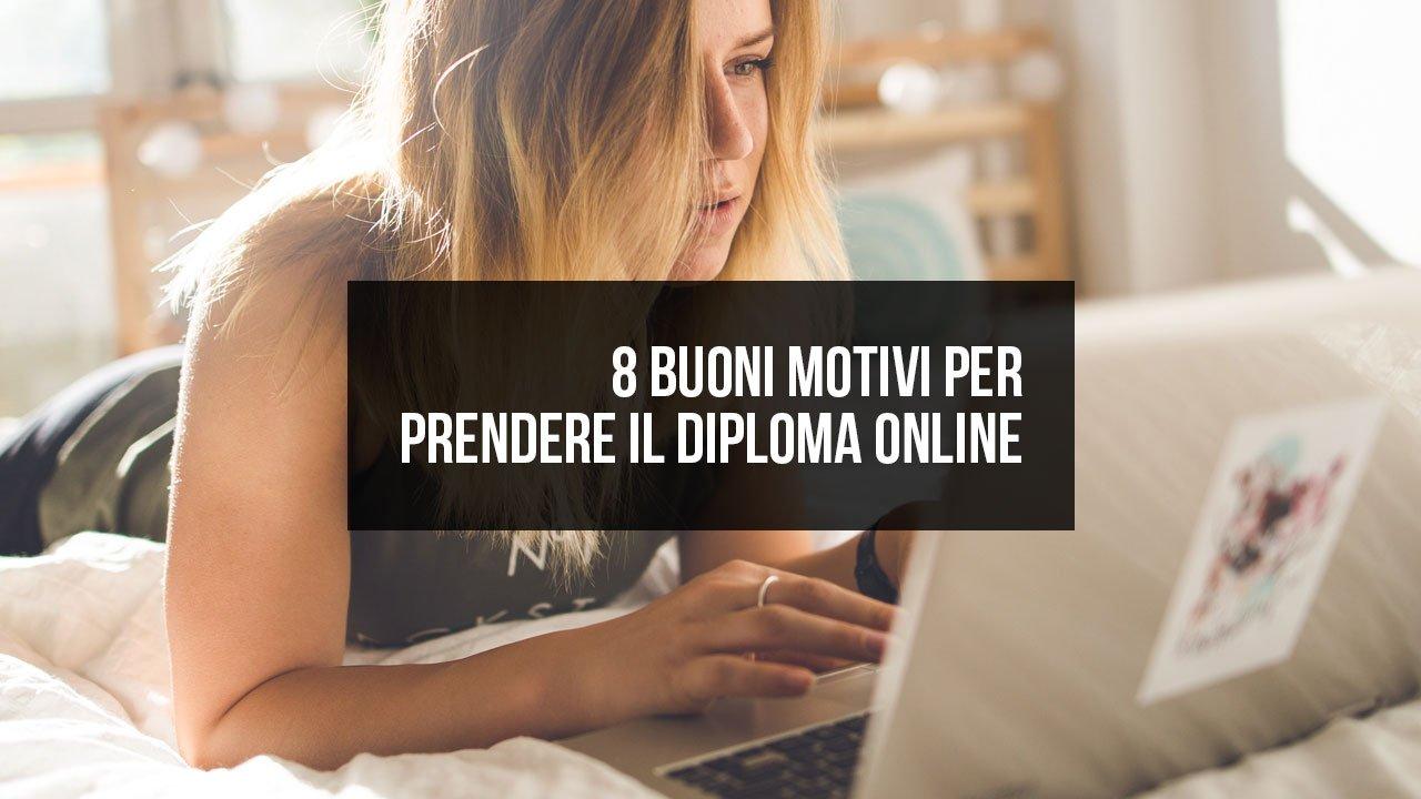 8 motivi per prendere il diploma online