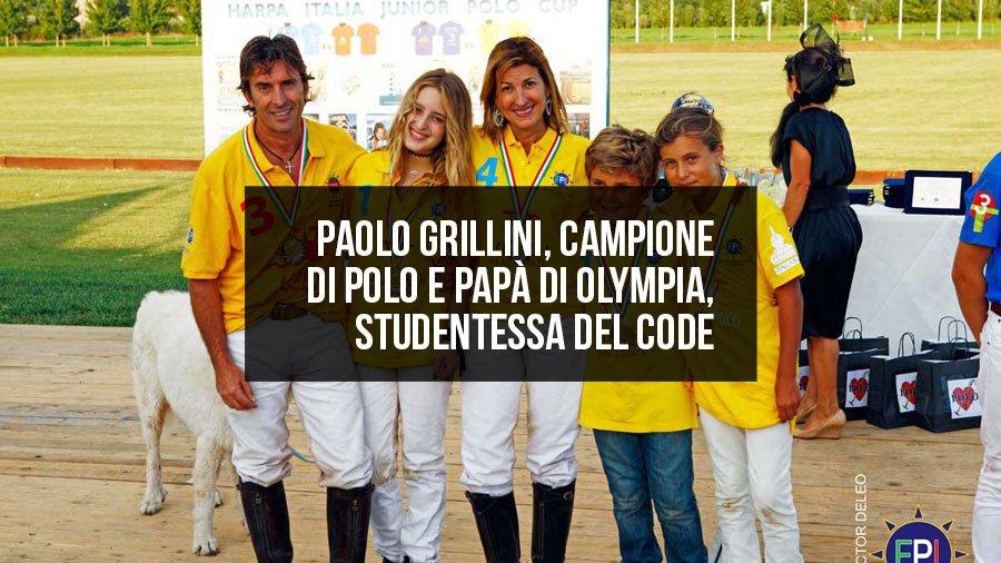 Paolo Grillini, campione di Polo