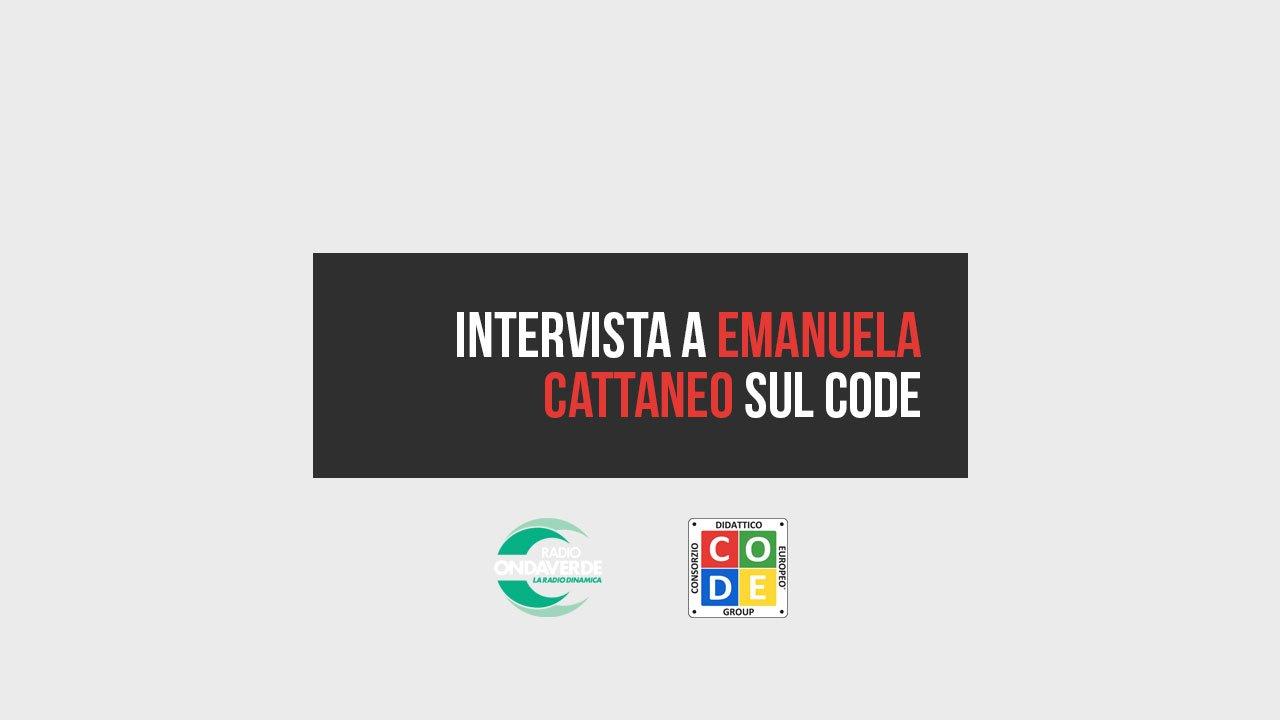 Intervista a Emanuela Cattaneo sul CODE