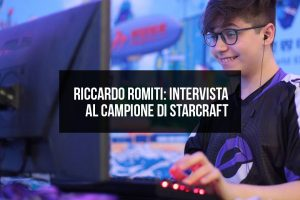 Riccardo Reynor Romiti, intervista al campione di Starcraft