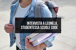 Intervista a Leonela, studentessa Scuole CODE