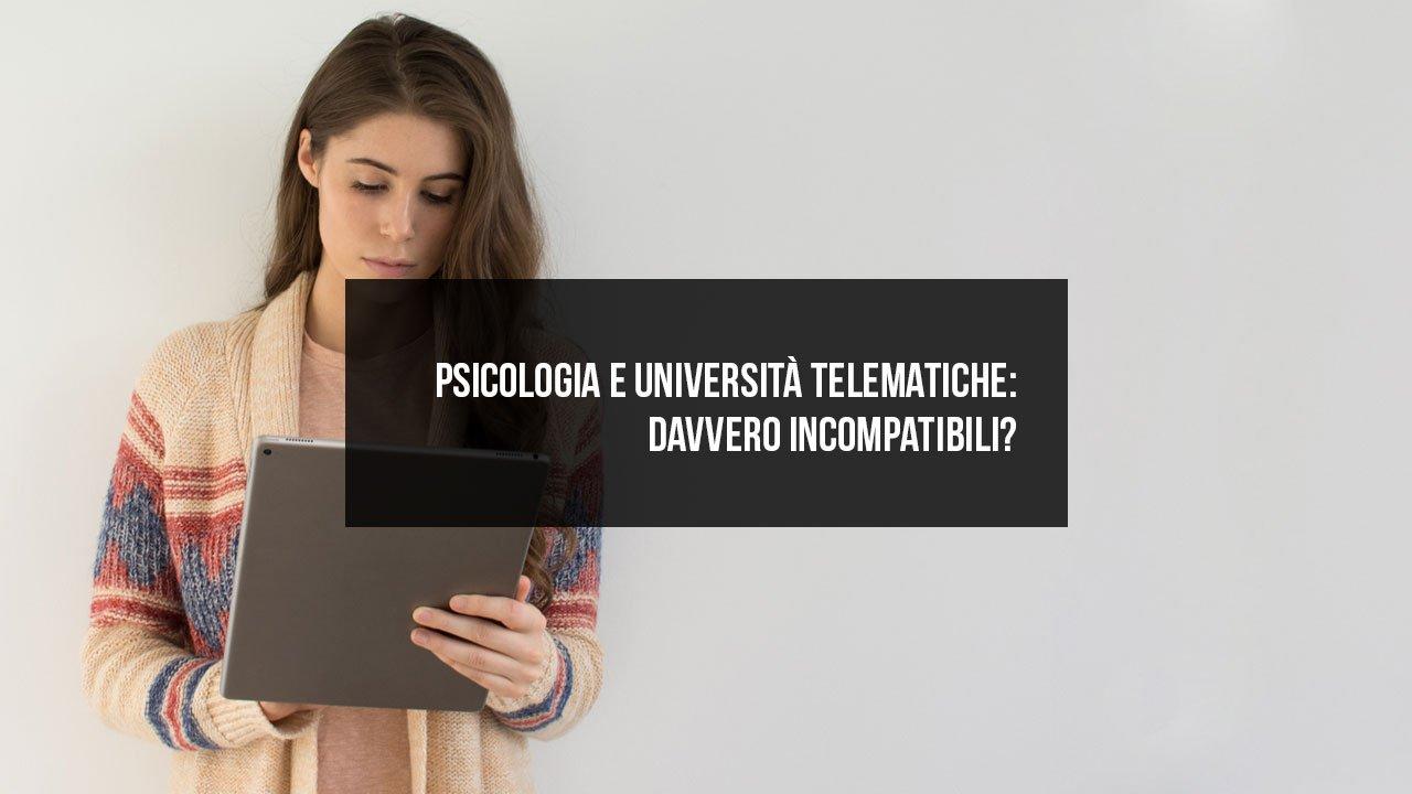 Psicologia e università telematiche: davvero incompatibili?