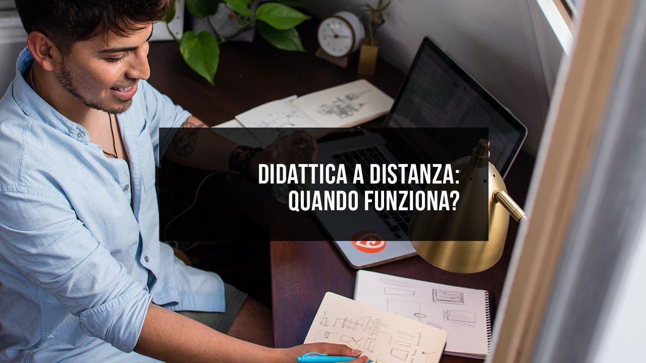 Didattica a distanza: quando funziona?