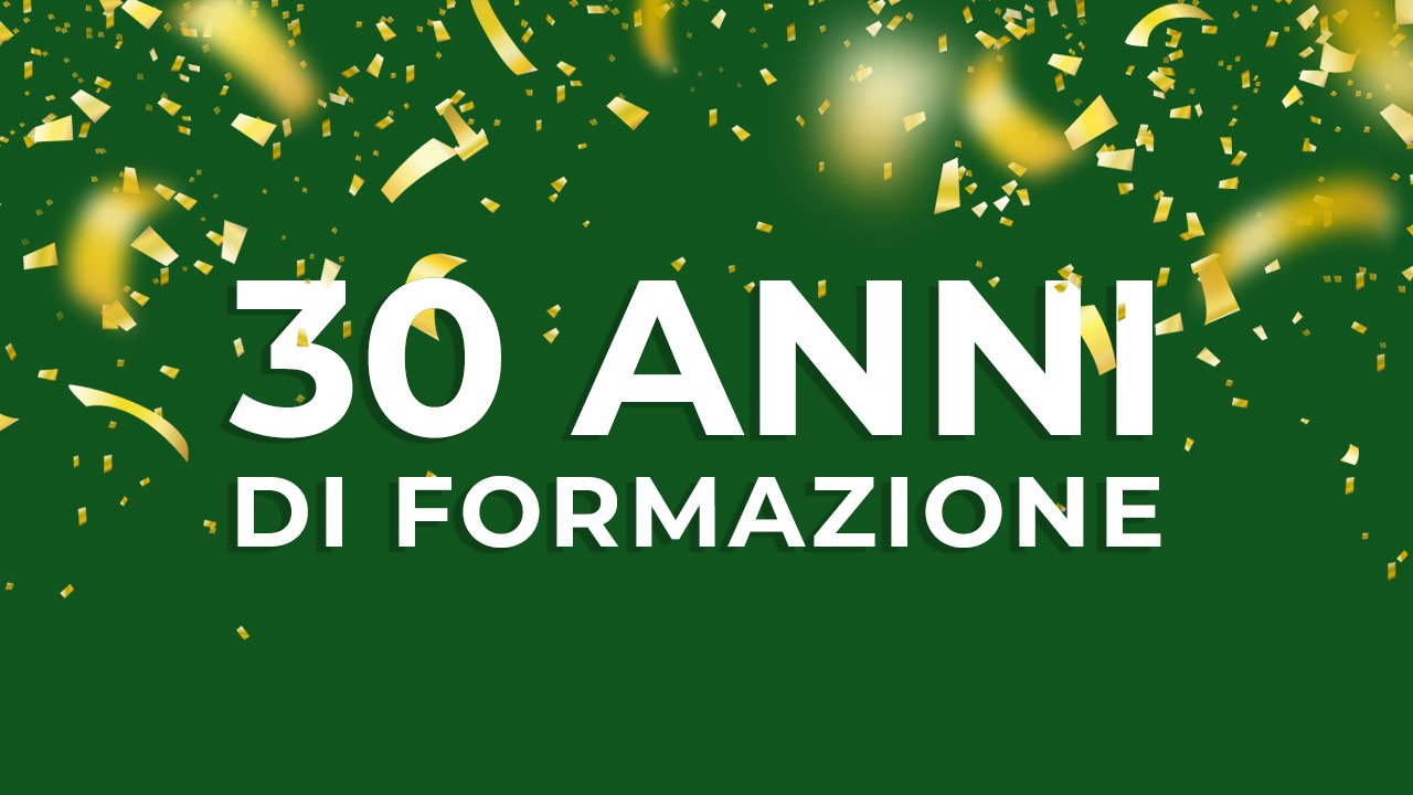 30 anni di formazione